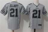 Dallas cowboys #21 Grey NFL Jersey (1)