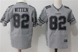 Dallas cowboys #82 Grey NFL Jersey (13)
