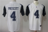 Dallas cowboys #4 White NFL Jersey (21)