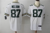 Green Bay Packers #87 White NFL Jersey (2)