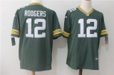 Green Bay Packers #12 Green NFL Jersey (3)