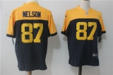 Green Bay Packers #87 Blue NFL Jersey (16)