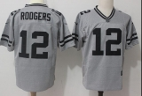 Green Bay Packers #12 Grey NFL Jersey (21)
