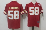 Kansas City Chiefs #58 Red NFL Jersey (1)