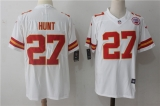 Kansas City Chiefs #27 White NFL Jersey (3)
