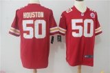 Kansas City Chiefs #50 Red NFL Jersey (4)