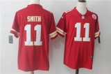 Kansas City Chiefs #11 Red NFL Jersey (8)