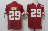 Kansas City Chiefs #29 Red NFL Jersey (10)