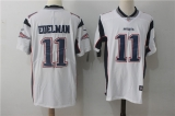 New England Patriots #11 White  NFL Jersey (5)