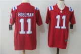 New England Patriots #11 Red  NFL Jersey (8)