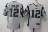 New England Patriots #12 Grey  NFL Jersey (16)