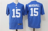 New York Giants #15 Blue NFL Jersey (5)
