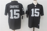 Oakland Raiders #15 Black NFL Jersey (2)