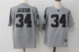 Oakland Raiders #34 Grey NFL Jersey (6)