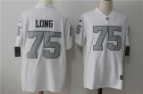 Oakland Raiders #75 White NFL Jersey (8)