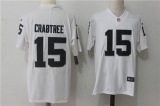 Oakland Raiders #15 White NFL Jersey (11)