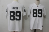 Oakland Raiders #89 White NFL Jersey (15)