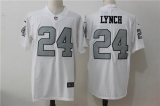 Oakland Raiders #24 White NFL Jersey (22)