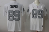 Oakland Raiders #89 White NFL Jersey (31)