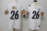 Pittsburgh Steelers #26 White NFL Jerseys (44)