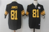 Pittsburgh Steelers #81 Black NFL Jerseys (45)