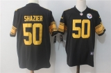 Pittsburgh Steelers #50 Black NFL Jerseys (47)