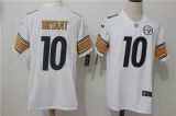 Pittsburgh Steelers #10 White NFL Jerseys (52)