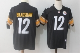 Pittsburgh Steelers #12 Black NFL Jerseys (56)