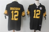 Pittsburgh Steelers #12 Black NFL Jerseys (57)