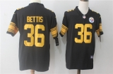 Pittsburgh Steelers #36 Black NFL Jerseys (58)