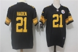 Pittsburgh Steelers #21 Black NFL Jerseys (62)