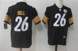 Pittsburgh Steelers #26 Black NFL Jerseys (64)