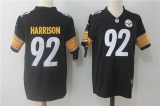 Pittsburgh Steelers #92 Black NFL Jerseys (65)
