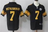 Pittsburgh Steelers #7 Black NFL Jerseys (67)