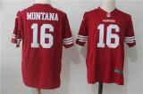San Francisco 49ers #16 Red NFL Jersey (1)