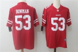 San Francisco 49ers #53 Red NFL Jersey (15)