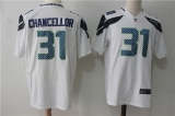 Seattle Seahawks #31 White NFL Jersey (1)