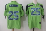 Seattle Seahawks #25 Green NFL Jersey (11)