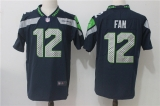 Seattle Seahawks #12 Blue NFL Jersey (15)