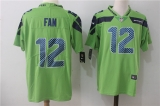 Seattle Seahawks #12 Green NFL Jersey (16)