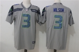 Seattle Seahawks #3 Grey NFL Jersey (19)