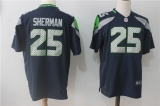 Seattle Seahawks #25 Blue NFL Jersey (18)