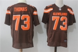 Cleveland Browns #73 brown NFL Jersey (2)