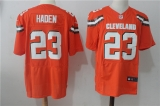 Cleveland Browns #23 Orange NFL Jersey (4)