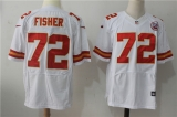 Kansas City Chiefs #72 White NFL Jersey (14)