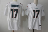 Miami Dolphins #17 White NHL Jersey (18)