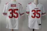 San Francisco 49ers #35 White NFL Jersey (18)