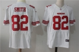 San Francisco 49ers #82 White NFL Jersey (27)