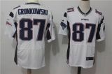 New England Patriots #87 White NFL Jersey (23)