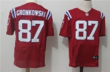 New England Patriots #87 Red NFL Jersey (25)